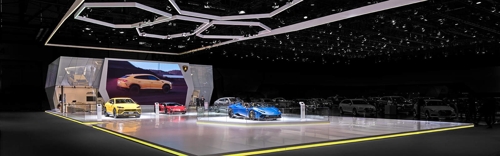 Braunwagner Spatial und Interior Design Lamborghini Geneva International Motor Show 2019