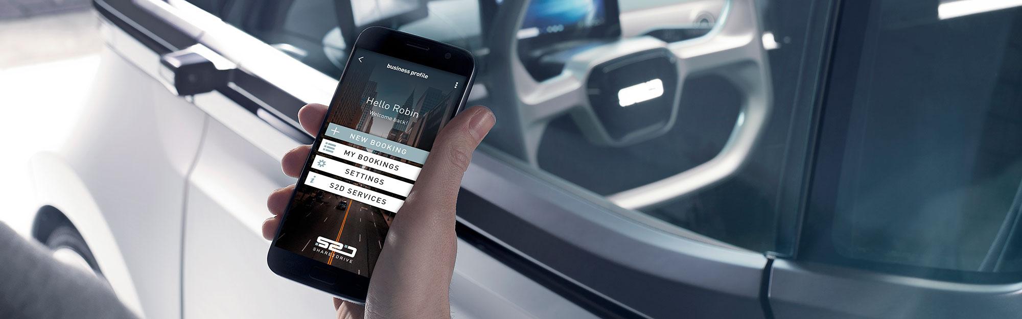 Braunwagner Digital und Media Design SVEN Booking App Screen Design