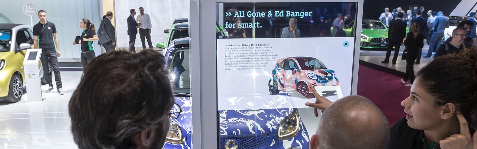 Braunwagner Digital Media Design smart interactive exhibits since 2011