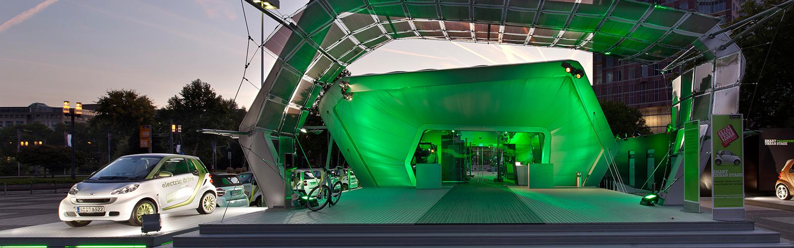 Braunwagner Spatial und Interior Design smart urban stage und BASF solar gate