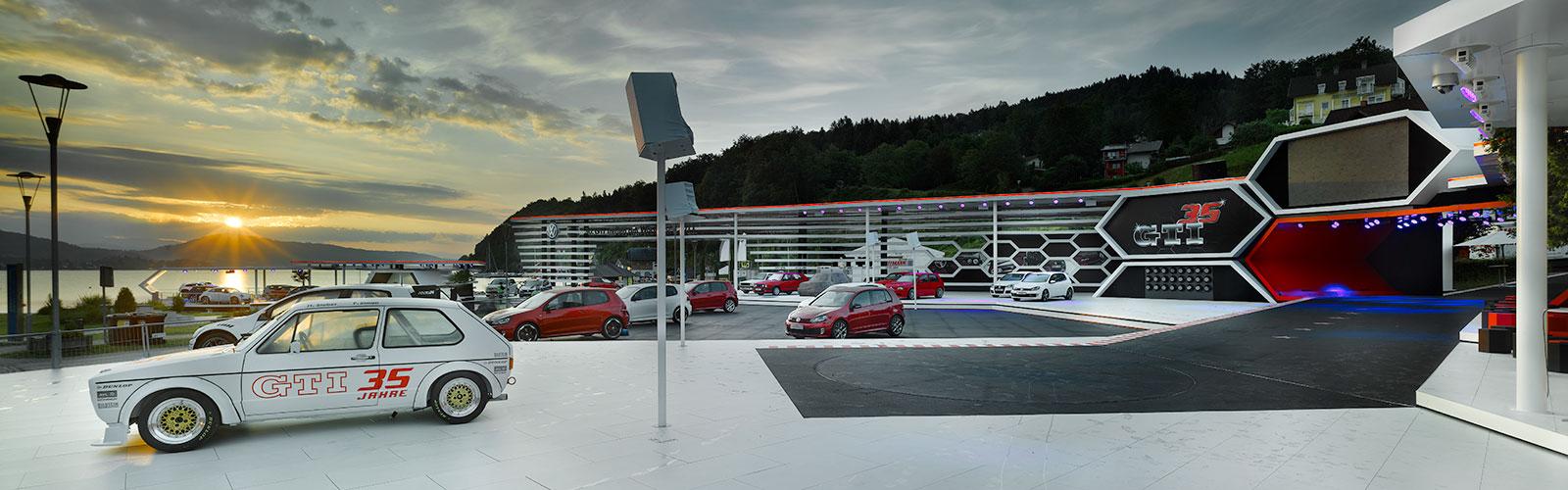 Braunwagner Spatial und Interior Design Volkswagen Golf GTI Treffen 2011-2015