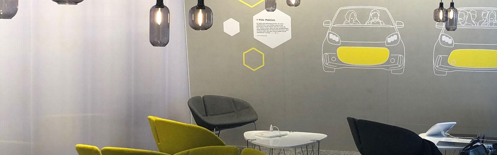 Braunwagner Spatial Interior Communication Design smart IAA Frankfurt 2019